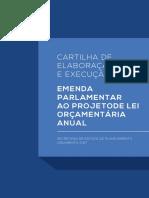 Cartilha de Emendas Parlamentares PLOA