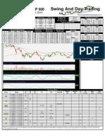 SPY Trading Sheet for Monday, September 13, 2010