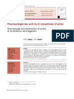 Pharmacologie Des Anti Xa Et m Canismes d Action 2014 Archives of Cardiovascular Diseases Supplements