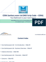 Cera Sanitaryware Ltd (NSE Code - CERA) - Katalyst Wealth Alpha Recommendation.pdf