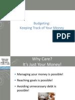 Budgeting Workshop PowerPoint