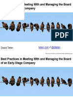 How to Manage and Present to Your Board