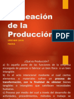 Planeacion de La Produccion Ppt Diana Carrillo