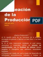 Planeacion de La Produccion Ppt Diana Carrillo