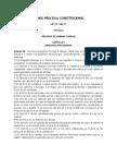 Lectura Código Procesal Constitucional Art 25 y Art 37