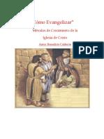 Metodos de Crecimiento de La Iglesias de Cristo Benedicto Calderon PDF