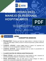 BIOSEGURIDAD MANEJO RESIDUOS