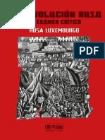 La Revolución Rusa Rosa Luxemburgo