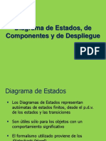 Diagrama Estados Componentes y Despliegue