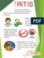 Gastritis Leaflet