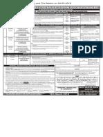 PPSC  Advt 05-2018- 28-02 -2018