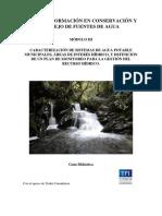 Guía Módulo III Escuela Del Agua
