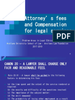 4. Attorney's Fees and Compensation for Legal Services (1)