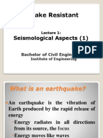 ERD BE Lecture 1 2013 Seismological Aspects (1)