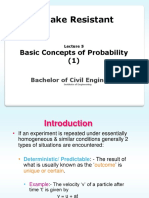 ERD BE Lecture 5 2013 Basic Concepts of Probability (1)
