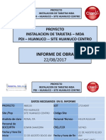 Informe Camara Playa Solimar