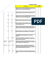 Checklist Audit HKI