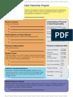 Global Citizenship Program recommendations (Sept 13 draft)