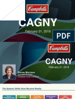 CPB Campbell Soup CAGNY 2018