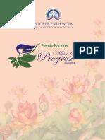 Premio Nacional Mujer de Progreso 2018