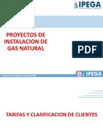 PROYECTOS DE INSTALACION DE GAS