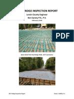 2017 Lorain County Bridge Report