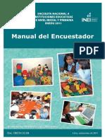 Manual Del Encuestador ENEDU