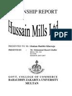 Title Pages Internship