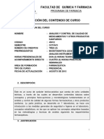 45912 Analisis y Control de Medicamentos PLAN