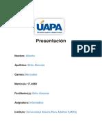 Alberto Tarea 6 Informatica