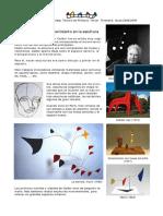 Alexander Calder Estruturas Moviles