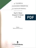 Cap.1- Teoria Do Conhecimento- Paul K. Moser