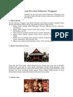 Kebudayaan Provinsi Sulawesi Tenggara