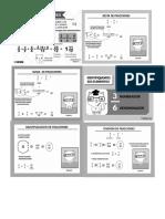 Fichas de Apoyo Matemáticas (Impresiones)