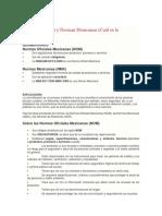 Normas Oficiales y Normas Mexicanas ¿Cuál es la Diferencia