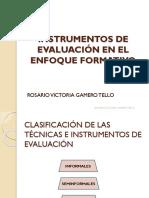 Instrumentos de Evaluación Por Competencias