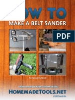 How to Make Your Own Belt Sander