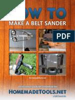 How to Make Your Own Belt Sander