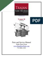 Bsm-trajan-t20 Manual de Sierra Traja