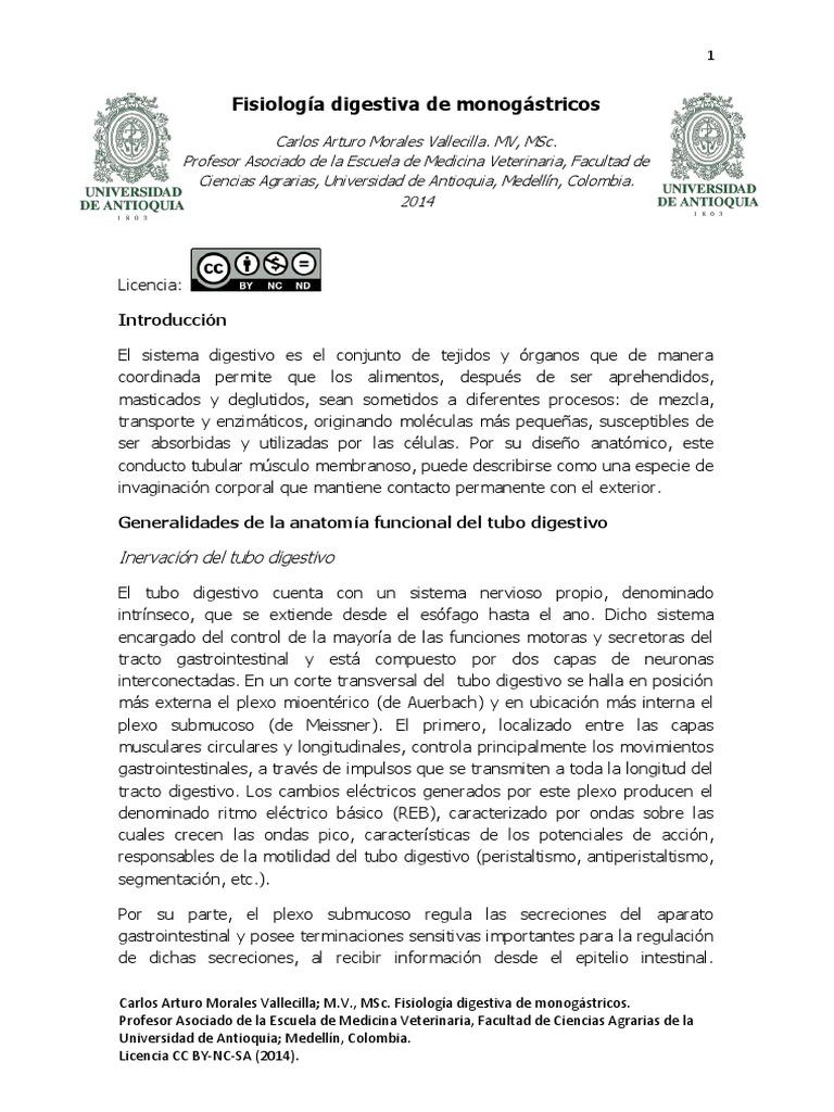 Fisiologia Digestiva-Carlos Morales