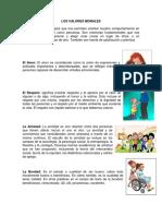 Valores Morales Ilustrados