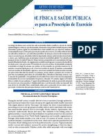 Atividade física e saúde pública - Recomendações para a prescrição de exercício.pdf