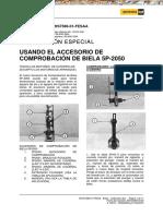 FERREYROS Manual Accesorio Comprobacion Biela 2050