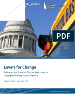 Levers for Change
