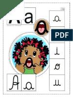 Painel Das Boquinhas Do Alfabeto