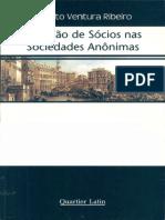 Renato Ventura RIBEIRO. Exclusão de Sócios Nas Sociedades Anônimas. (Quartier Latin l 2005) (1)