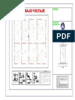 Planos de Diseño de Red de Distribucion y Alumbrado-1111