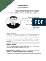 CV Mario Calderon Uribe
