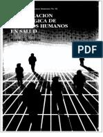 Planificación Estrategica RRHHuS 1er Edición