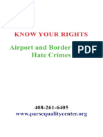 3-Airport and Border Rights Hate Crimes